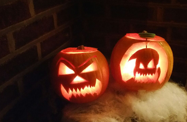 Scary Pumpkins from creative Leyla Preston!
