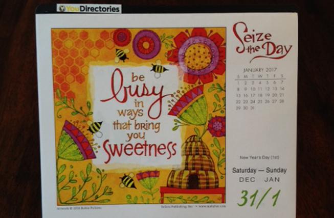 The YouDirectories Calendar!