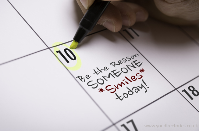 Be the reason someone smiles today...  :)