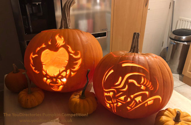 Elisa's daddy, Robert created these fantastic efforts
