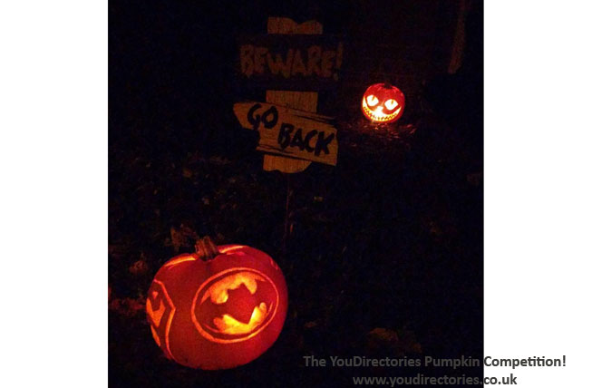 Third Place – goes to Dani for this Batman and Superman inspired effort