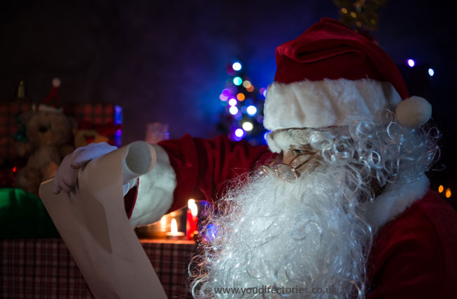 Even Father Christmas keeps good content marketing records