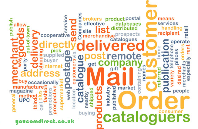 85 percent are likely to buy from a personalised mail order catalogue