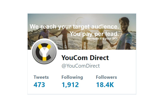 Our social media marketing gains 1,000 new followers a month